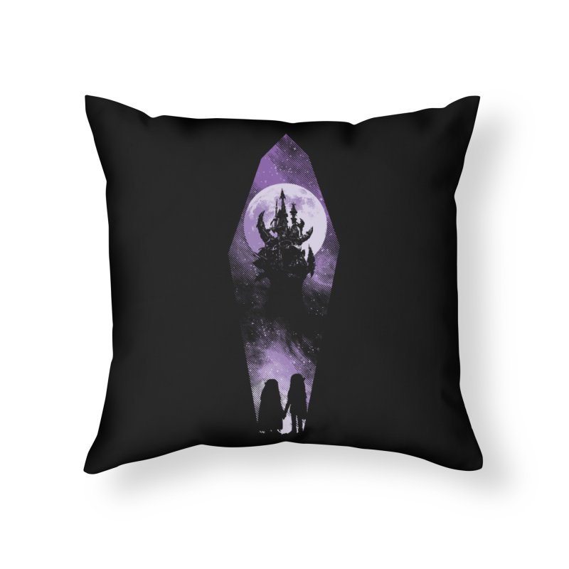 The Prophecy Home Throw Pillow by Daletheskater