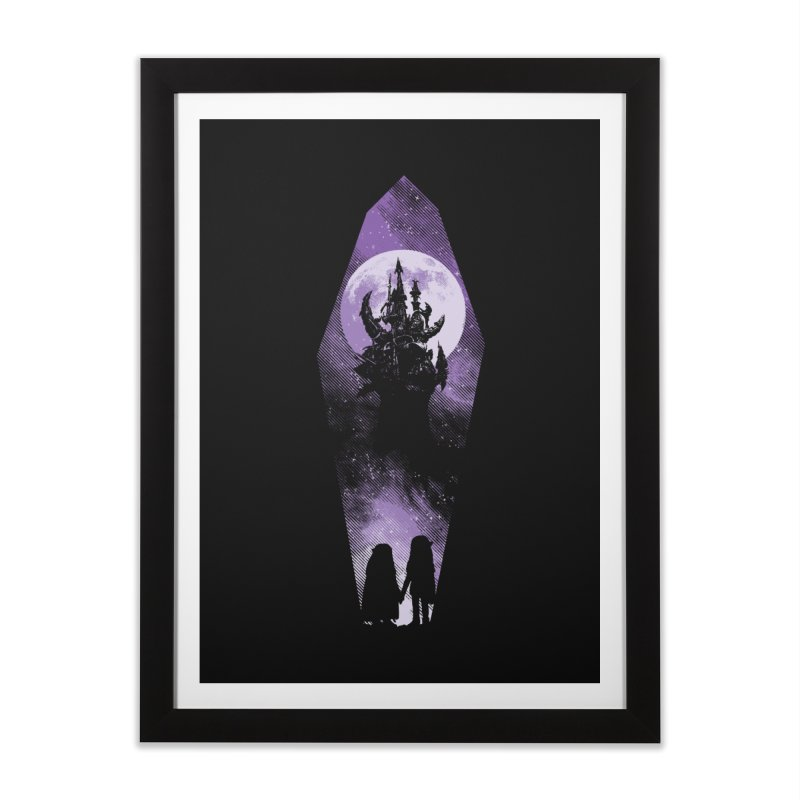The Prophecy Home Framed Fine Art Print by Daletheskater