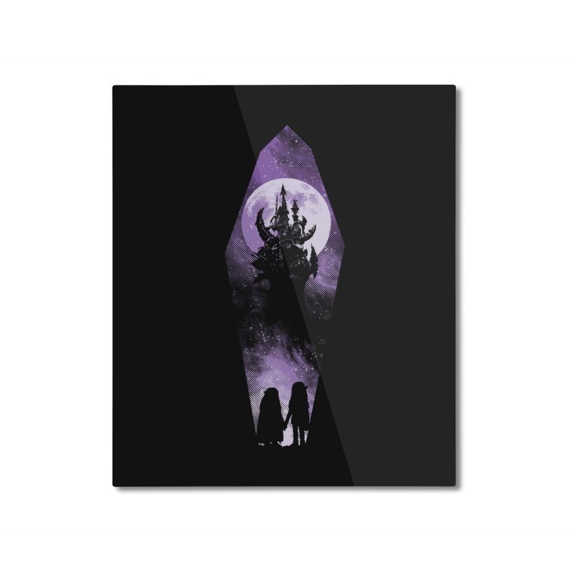 The Prophecy Home Mounted Aluminum Print by Daletheskater