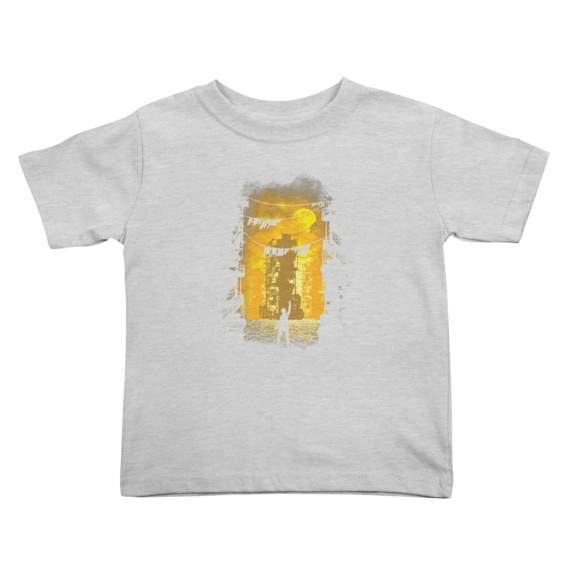 Gamers Paradise Kids Toddler T-Shirt by Daletheskater