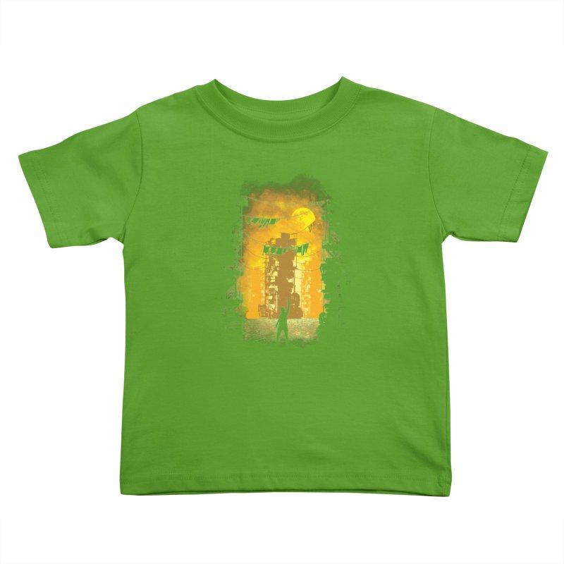 Gamers Paradise Kids Toddler T-Shirt by Daletheskater