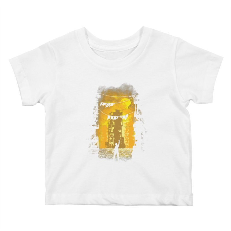 Gamers Paradise Kids Baby T-Shirt by Daletheskater