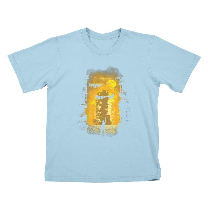 Gamers Paradise Kids T-Shirt by Daletheskater