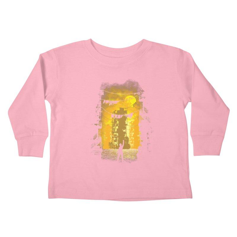 Gamers Paradise Kids Toddler Longsleeve T-Shirt by Daletheskater