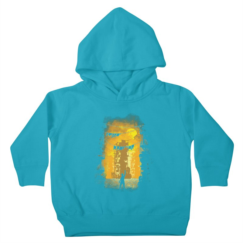 Gamers Paradise Kids Toddler Pullover Hoody by Daletheskater