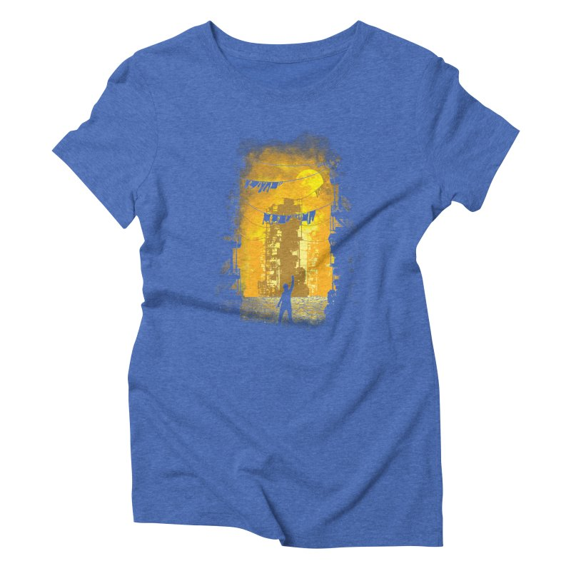 Gamers Paradise Women's Triblend T-Shirt by Daletheskater