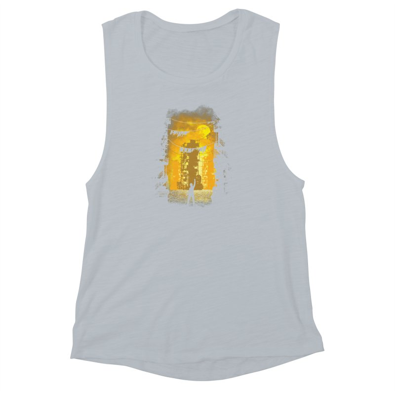 Gamers Paradise Women's Muscle Tank by Daletheskater