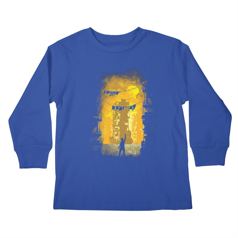 Gamers Paradise Kids Longsleeve T-Shirt by Daletheskater