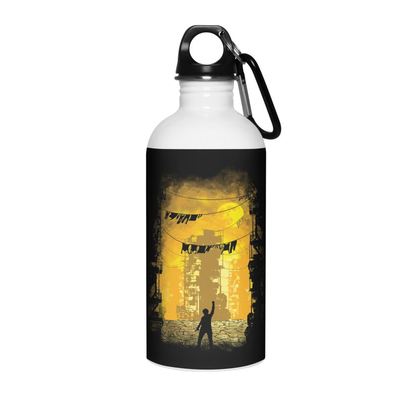 Gamers Paradise Accessories Water Bottle by Daletheskater