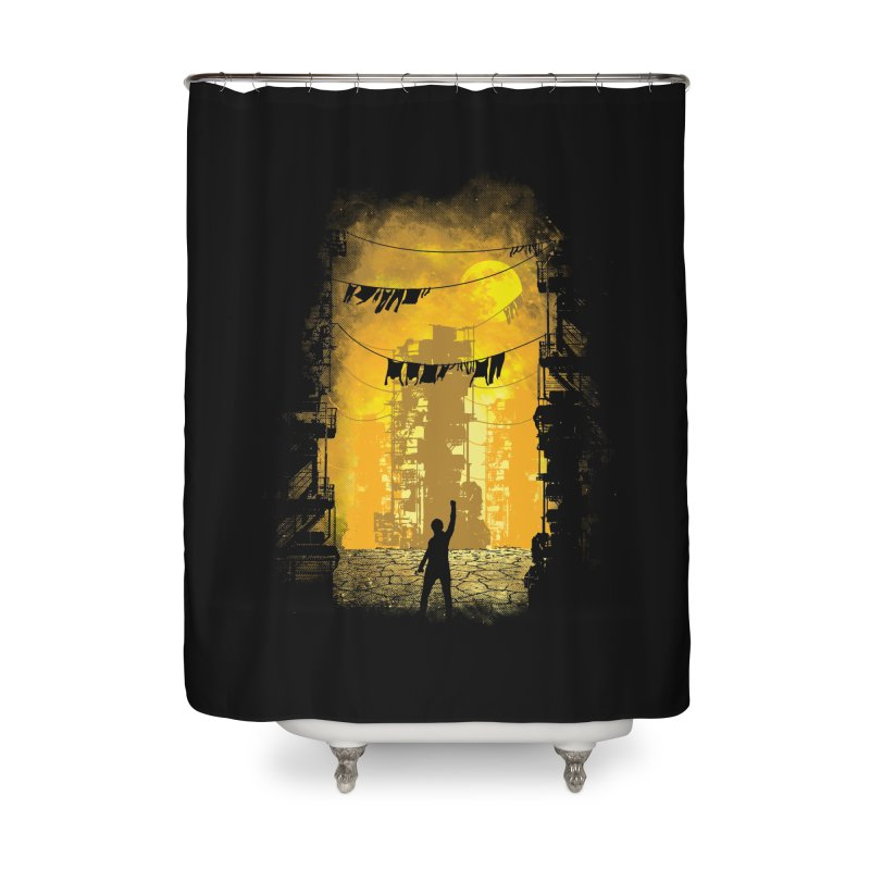 Gamers Paradise Home Shower Curtain by Daletheskater