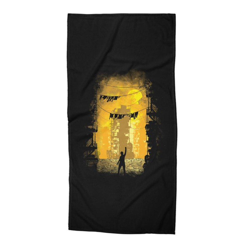 Gamers Paradise Accessories Beach Towel by Daletheskater