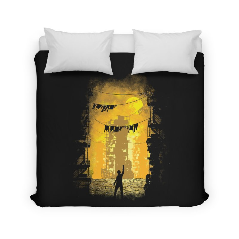 Gamers Paradise Home Duvet by Daletheskater
