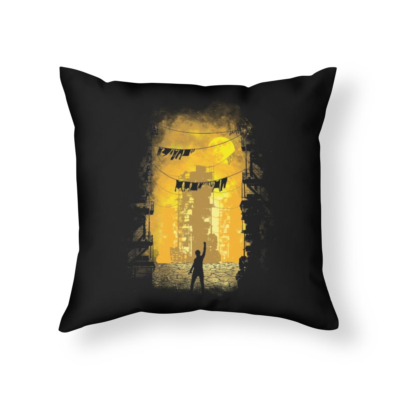 Gamers Paradise Home Throw Pillow by Daletheskater