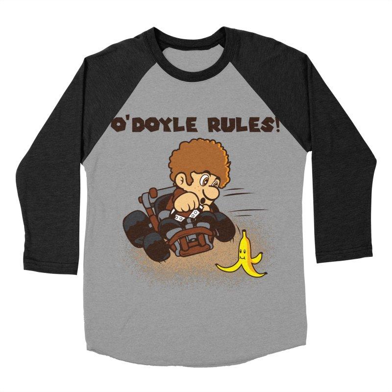 O'Doyle Rules Men's Baseball Triblend Longsleeve T-Shirt by Daletheskater