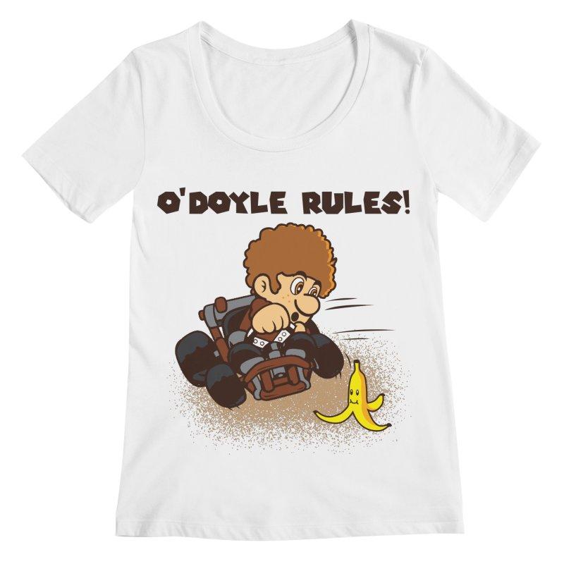 O'Doyle Rules Women's Regular Scoop Neck by Daletheskater