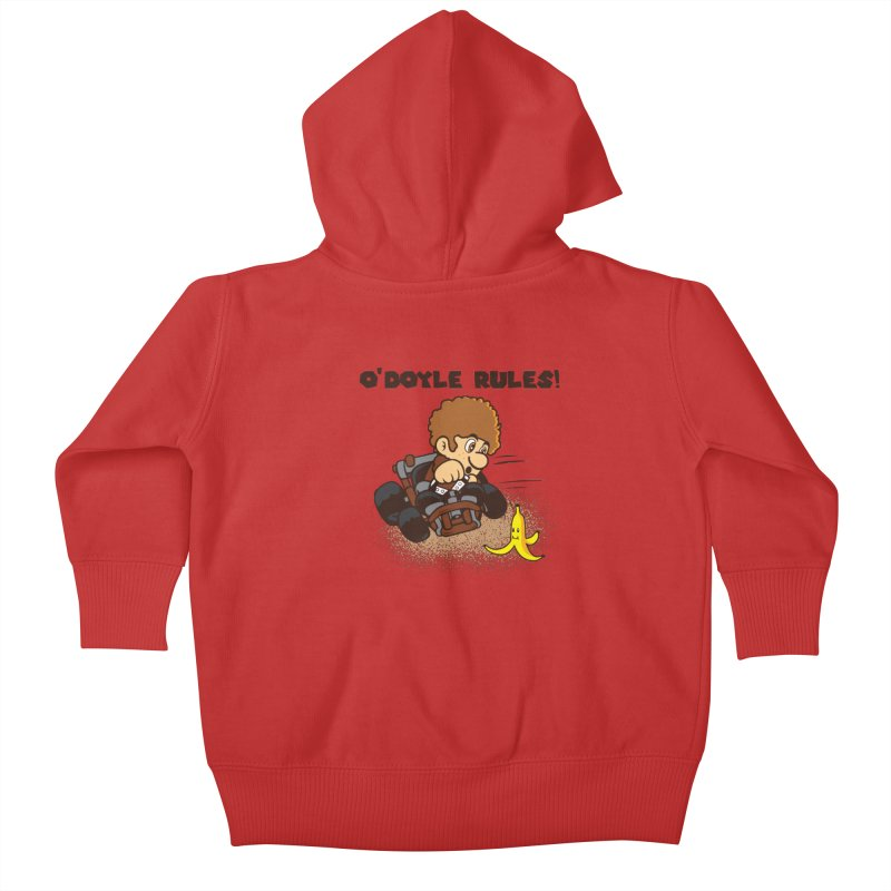 O'Doyle Rules Kids Baby Zip-Up Hoody by Daletheskater