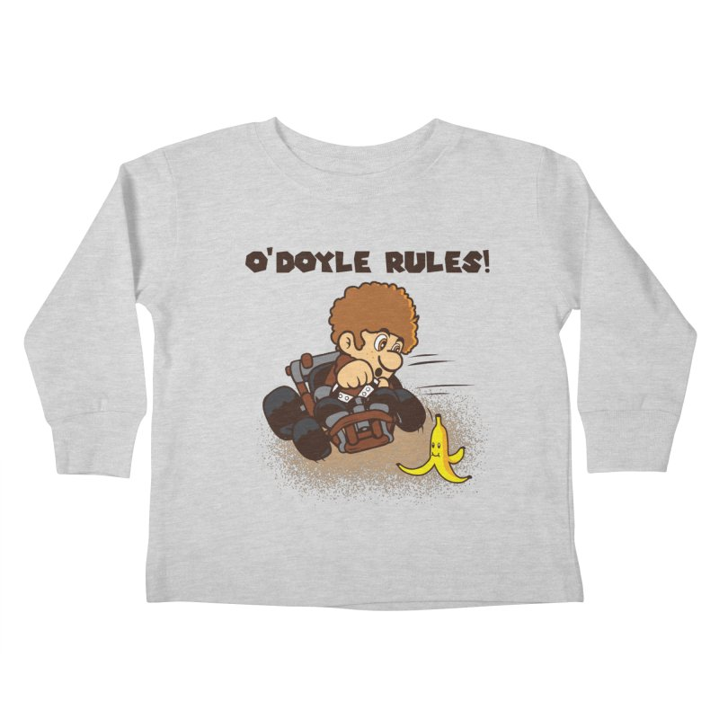 O'Doyle Rules Kids Toddler Longsleeve T-Shirt by Daletheskater