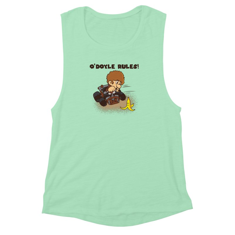 O'Doyle Rules Women's Muscle Tank by Daletheskater