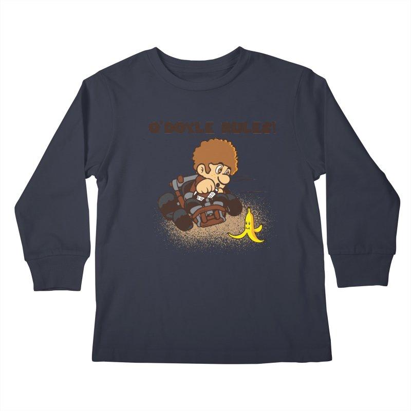 O'Doyle Rules Kids Longsleeve T-Shirt by Daletheskater