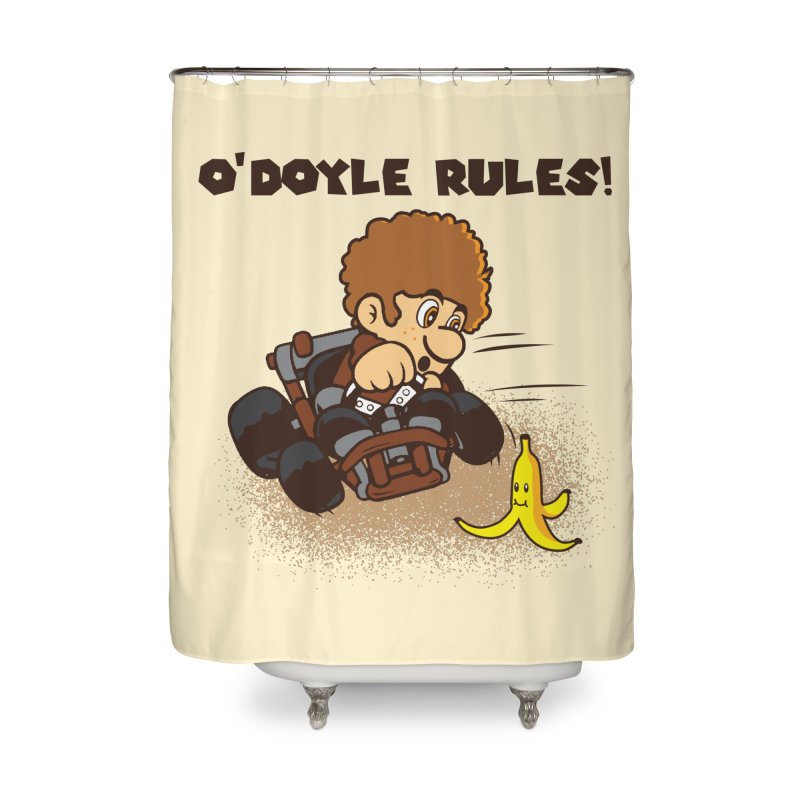 O'Doyle Rules Home Shower Curtain by Daletheskater
