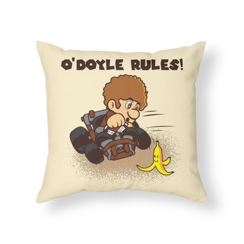 O'Doyle Rules Home Throw Pillow by Daletheskater