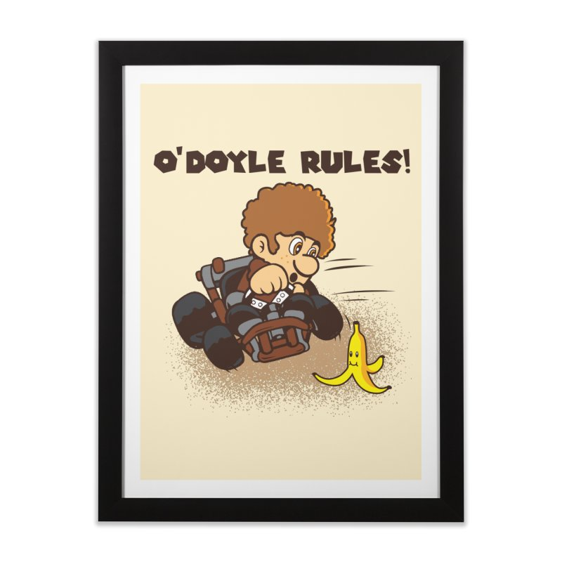 O'Doyle Rules Home Framed Fine Art Print by Daletheskater