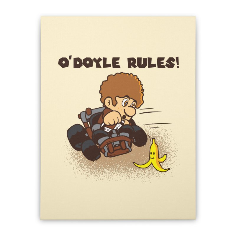 O'Doyle Rules Home Stretched Canvas by Daletheskater