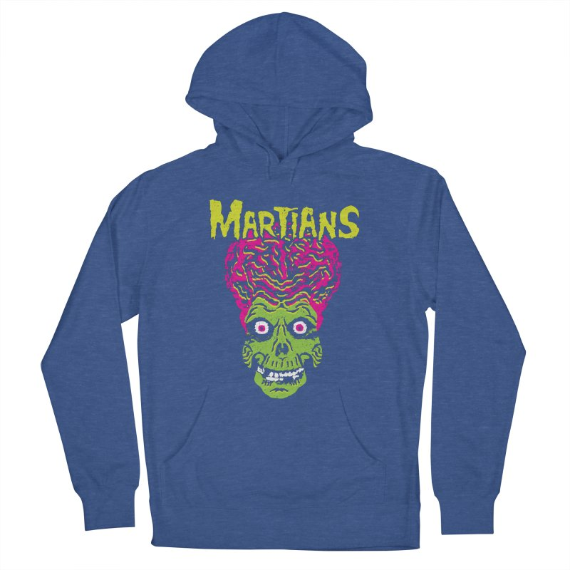 Martians Women's French Terry Pullover Hoody by Daletheskater