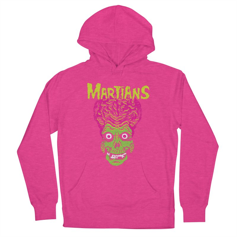 Martians Women's Pullover Hoody by Daletheskater
