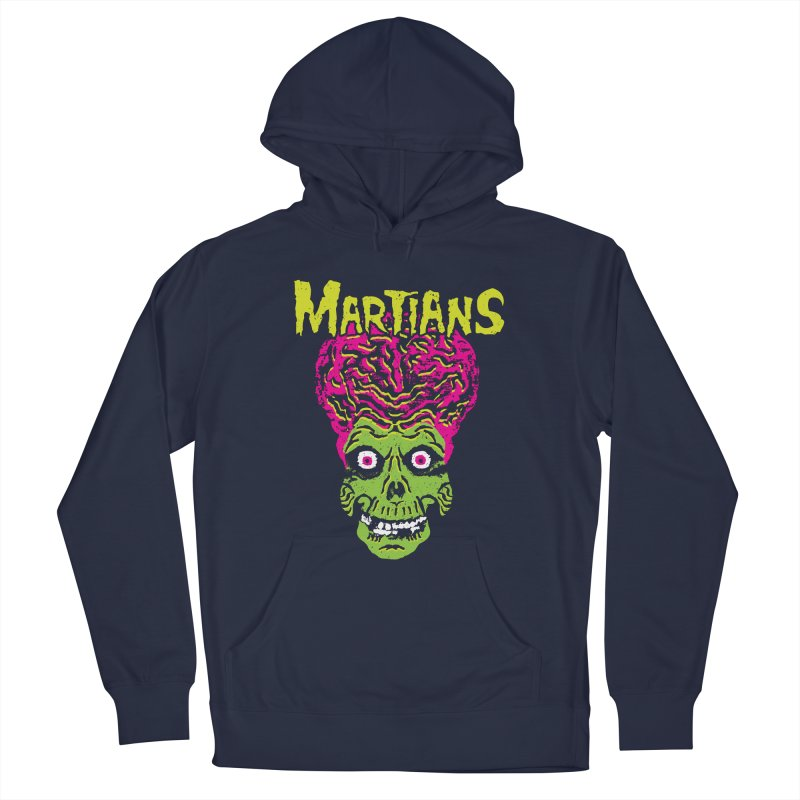 Martians Men's French Terry Pullover Hoody by Daletheskater