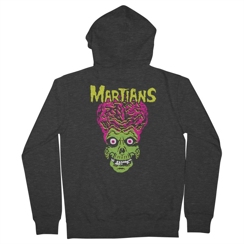 Martians Women's Zip-Up Hoody by Daletheskater