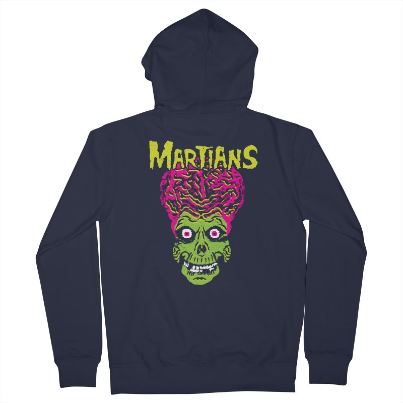 Martians Men's French Terry Zip-Up Hoody by Daletheskater