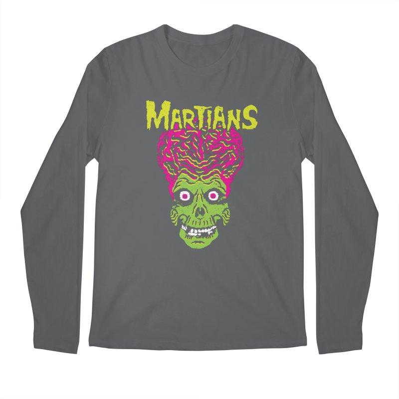 Martians Men's Regular Longsleeve T-Shirt by Daletheskater