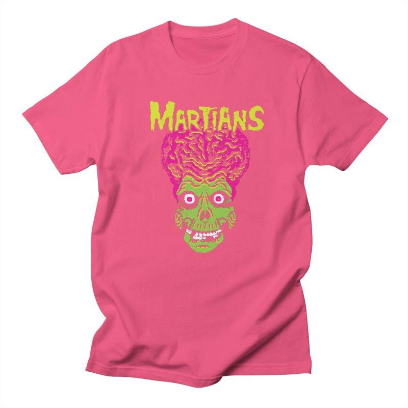 Martians Men's T-Shirt by Daletheskater