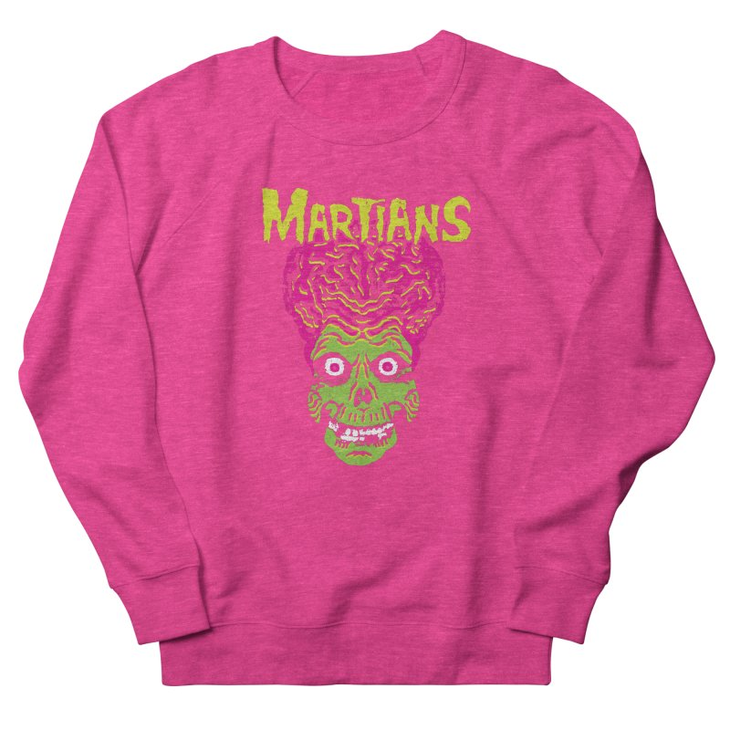 Martians Women's French Terry Sweatshirt by Daletheskater