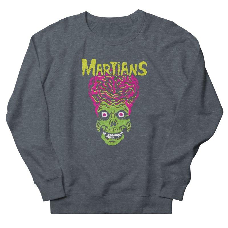 Martians Men's Sweatshirt by Daletheskater