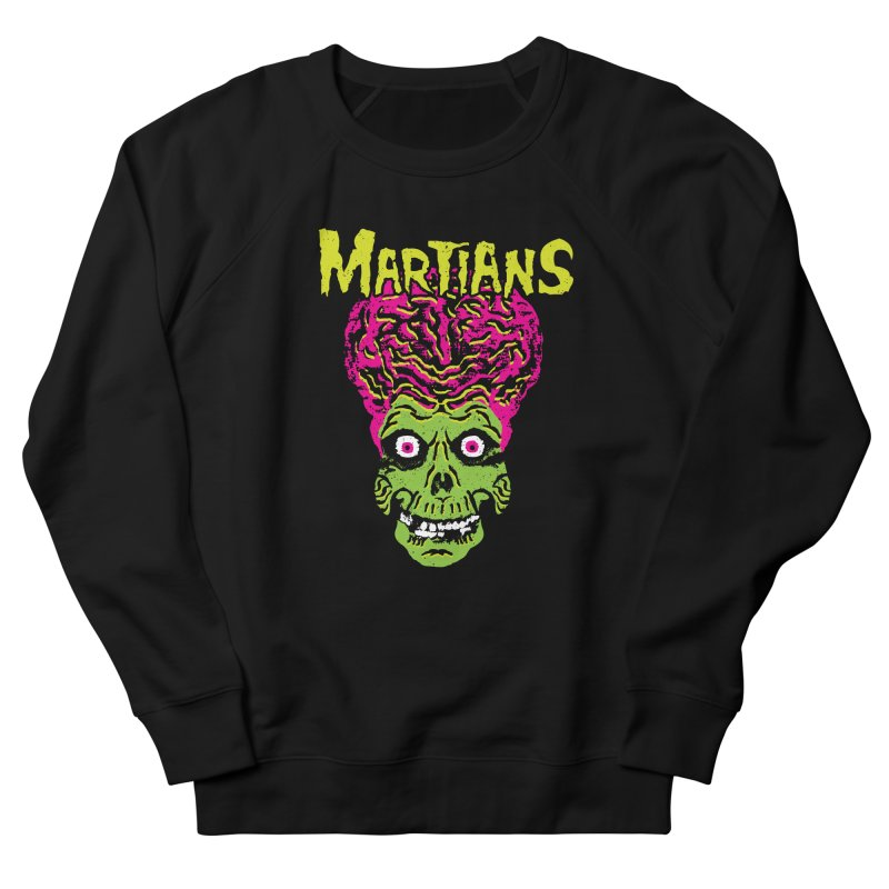 Martians Men's French Terry Sweatshirt by Daletheskater