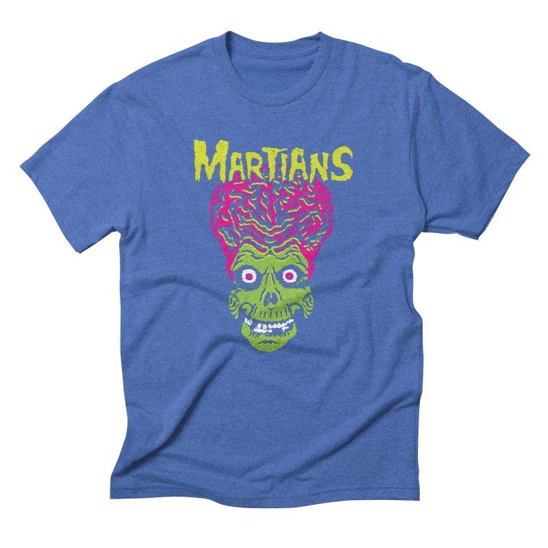 Martians Men's Triblend T-Shirt by Daletheskater
