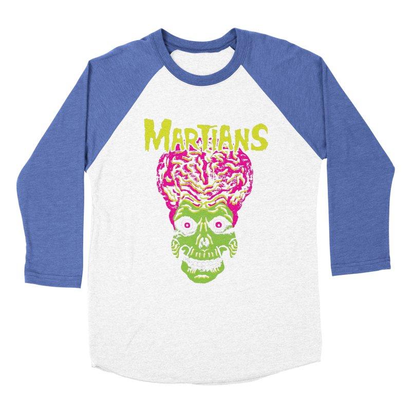 Martians Men's Baseball Triblend T-Shirt by Daletheskater