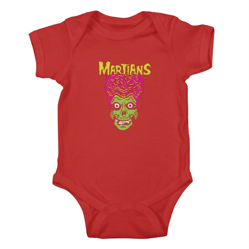 Martians Kids Baby Bodysuit by Daletheskater