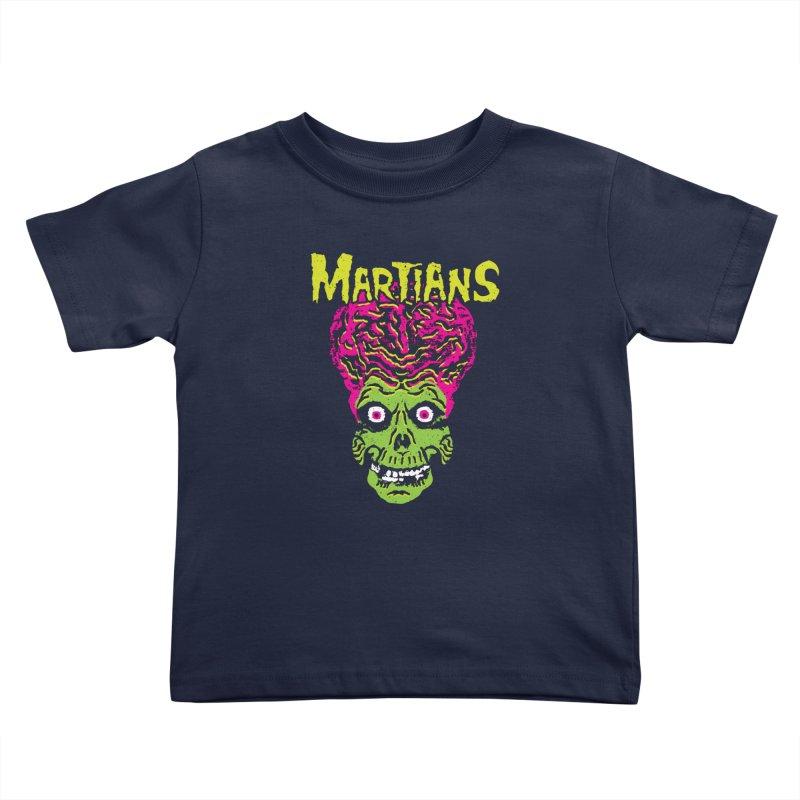 Martians Kids Toddler T-Shirt by Daletheskater