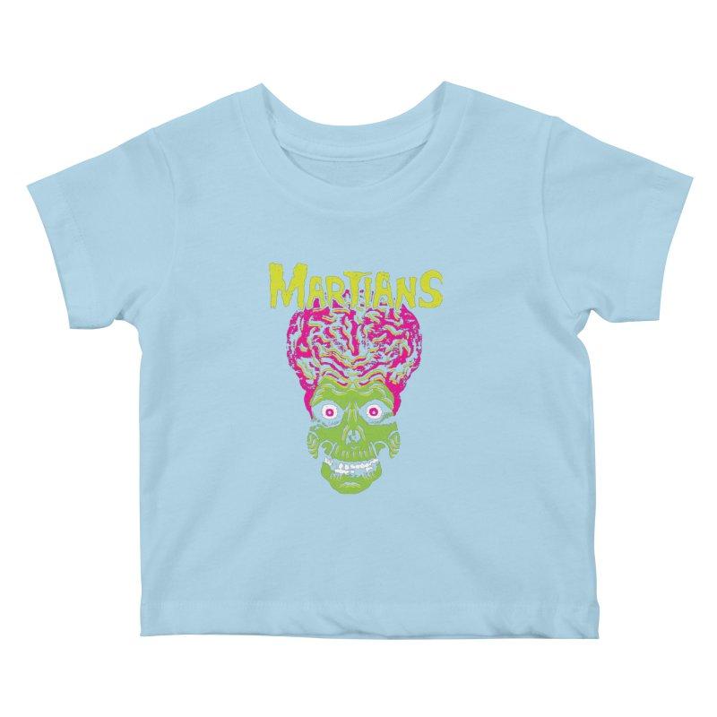Martians Kids Baby T-Shirt by Daletheskater