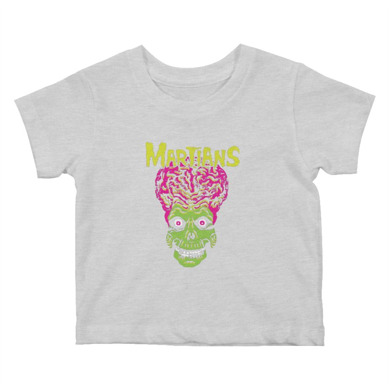 Martians Kids Baby T-Shirt by Daletheskater