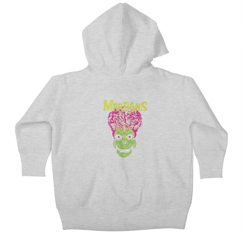 Martians Kids Baby Zip-Up Hoody by Daletheskater