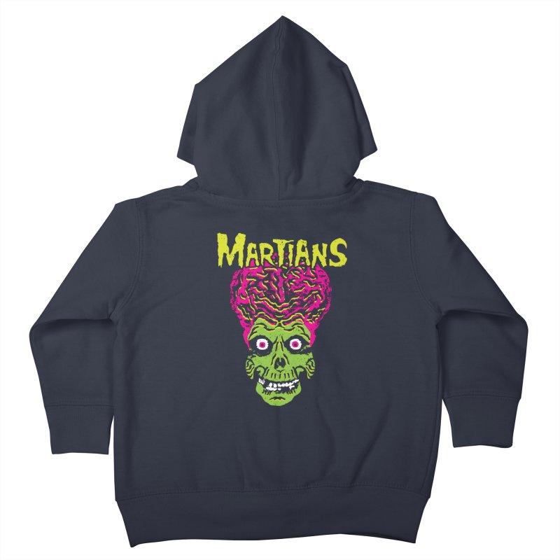 Martians Kids Toddler Zip-Up Hoody by Daletheskater