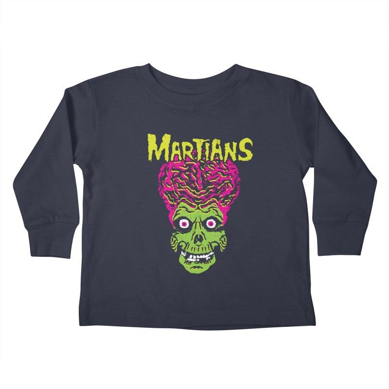 Martians Kids Toddler Longsleeve T-Shirt by Daletheskater