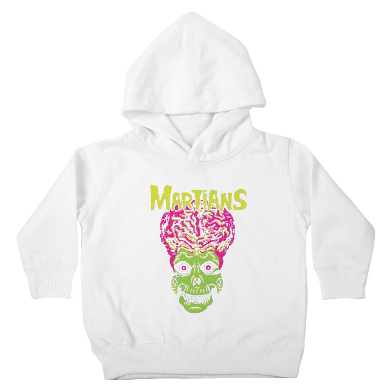 Martians Kids Toddler Pullover Hoody by Daletheskater