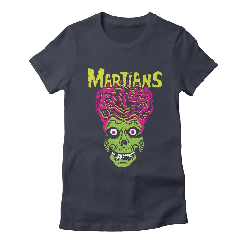 Martians Women's Fitted T-Shirt by Daletheskater