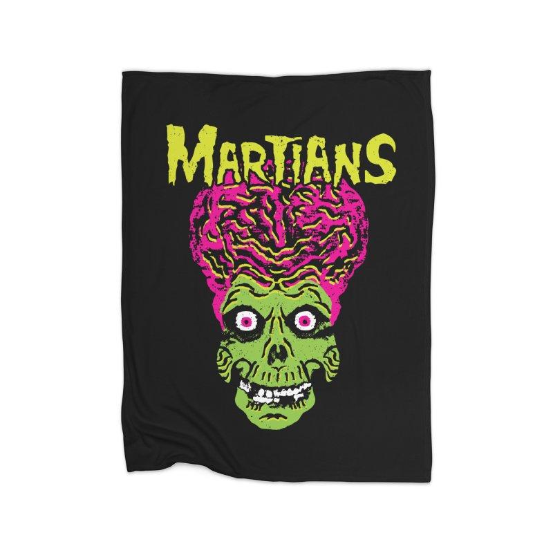 Martians Home Blanket by Daletheskater