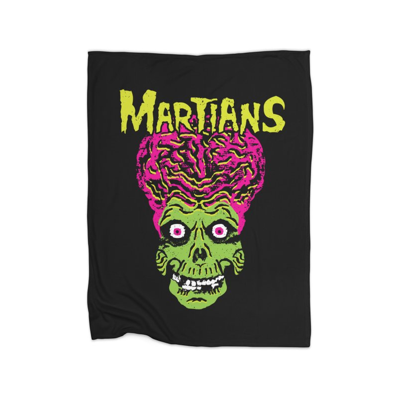 Martians Home Blanket by Daletheskater